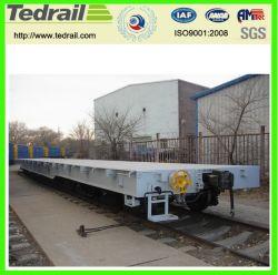 Large and Long Railway Flat Car