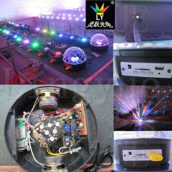 6X1w LED Stage Effect Light Mirror Disco Ball