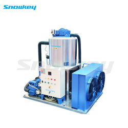 Slurry Ice Machine for Sea Water on Land Using