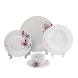 Wholesale New Design Porcelain Dinnerware Stoneware China Factory Popular Design Tableware Manufacture