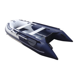 2.5m 2.7m 3m 3.3m 3.6m 3.8m PVC Inflatable Sport Fishing/Racing Boats with Aluminum Floor