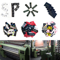 Guangzhou Wholesale Custom High Quality Factory Clothing Woven Label
