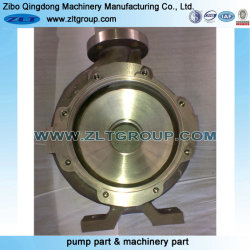 Titanium Chemical ANSI Durco Mark III Centrifugal Water Pump Housing in Stainless Steel in CD4/316ss