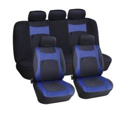 Popular Product Velour And Mesh Red Heated Car Seat Covers