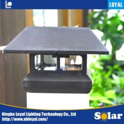 Loyal Manufacturer Good Quality Waterproof Solar Panel LED Outdoor Solar Fence Post Cap Lighting