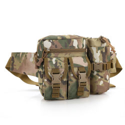 Promotion Outdoor Sports Camouflage Multi-Functional Waterproof Lure Fishing Bag Wholesaler
