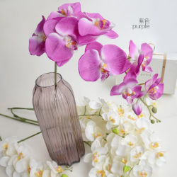 Hot Sale Artificial Flower Orchid Art for Decoration