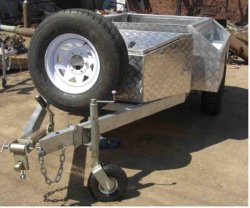 Luxury Rear Folding Camper Trailer With Canvas Tent For Sale