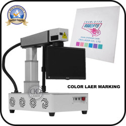 20W 30W 50W Portable All-in-One Fiber Laser Marking Machine for Metal Plastic Logo Printing Engraving