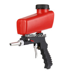 PS-11 Portable Sand Blaster, Media Blasting Nozzle Gun, DIY, Crafts, Glass & Mirror Etching Tool, Gravity Feed Sandblast Gun,