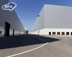 Anti-Corrosion Prefabricated Steel Structure Badminton Sport Hall/Asian Warehouse