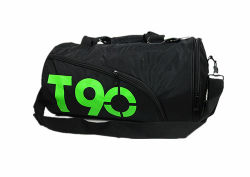 PVC Waterproof Custom Duffel Travel Gym Sport Bag with Shoe Compartment