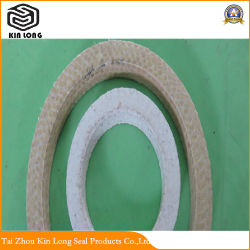 Aramid Fiber Packing Ring; Manufactures Wholesale Custom Cheap Seal Ring PTFE Fiber Ramie Packing Ring with Good Price