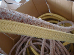 ISO 9001 Certified Aramid Fiber Packing in High Quality