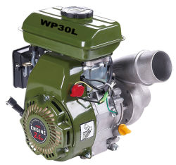 3 Inch Low Pressure Gasoline Pump with Big Flow and Displacement, 2.5HP Wp30L
