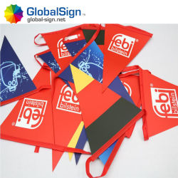 Racing Bunting Flag Triangle Flag Banner Design