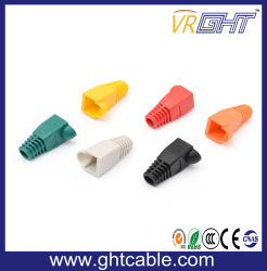 RJ45 Modular Plug Rubber Boot for Cat5e CAT6 Network Cable