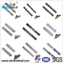 Various Fishplates for Railways and Cranes