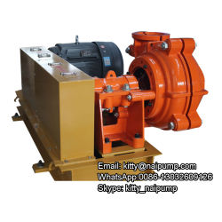 6/4 D-Ah Horizontal Slurry Water Pump for Cement Factory