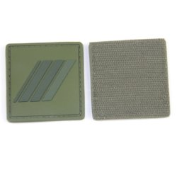 Hook and Loop Olive Green Tactical Military PVC Patch