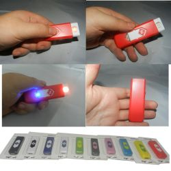 2016 Hot Sale Cheapest Plastic Recharge Electronic USB Lighter