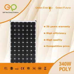 380W Monocrystalline Solar Panel with TUV/Ce Certificate