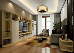 New Designed Chinese Classica Style TV Unit in Living Room
