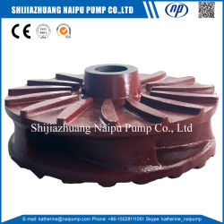 Fam10147re1 Mineral Sand Slurry Pump Parts Casting Impeller