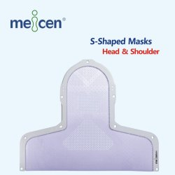 Renfu Meicen Violet Imrt S-Shaped Head&Shoulder Mask Radiotherapy Thermoplastic Mask