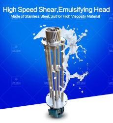 Mixing Blending Emulsifier Machine Head for Face Cream