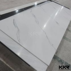 Pure White Acrylic Solid Surface For Countertop