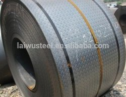 Checkered Steel Plate with Tear Drop Pattern 2.5-20mm Thickness