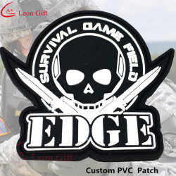 Factory Custom Military Rubber PVC Patches with Velcro 7ca194ba6d9