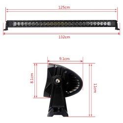 Wholesale Factory Price 51 Inch 12V CREE 5W RGB Custom Logo LED Light Bar RC 6X6 Truck Parts