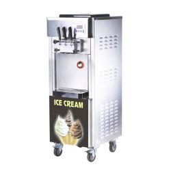 110V/60Hz 18L/H Stainless Steel Soft Serve Frozen Yogurt Maker (CT-BQL818)