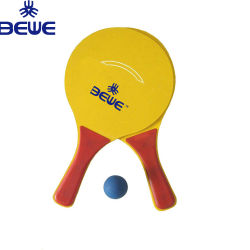 Factory Price Popular Sports Wood Beach Racket Set