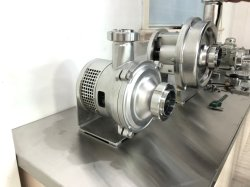 Stainless Steel Close Impeller Centrifugal Pump for Milk
