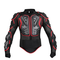Motorcycle Full Body Armor Vest Spine Chest Guard Protection Gear Motocross ATV Protector Motorcycle Safety Jacket Sports Protection Gear Esg13141