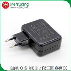 Shenzhen Factory Wholesale 21W Multi Port USB Charger EU 4 USB AC/DC Charger for EU Plug