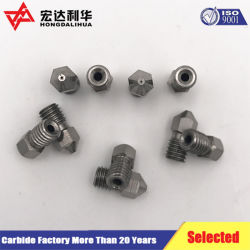 Carbide Nozzles for 3D Printer Parts