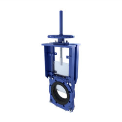 Mining Slurry Knife Gate Valve with Hand Wheel / Pneumatic / Electric Actuator
