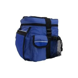 Polyester Sport Zipper 24 Cans Insulated Promotional Cooler Bag