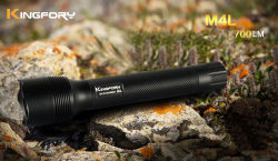 Tactical 700lumen 3modes 2*26650 Rechargeable Xml-T6 LED Flashlight