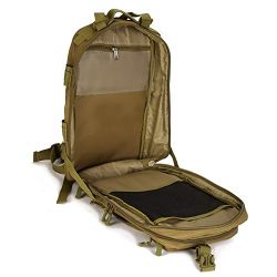 40L Tactical Lightweight Laptop Bag Waterproof Backpack