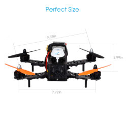 Mini PAL/NTSC Option Light Weight Quadcopter Drone Agriculture Sprayer