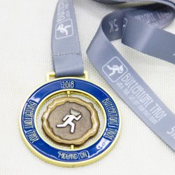 Souvenir Use and Metal Material Medals and Sports Rotate Award Medals