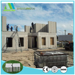 China Supplier of Soundproof/Fireproof/Waterproof/Fast-Installation/Lightweight EPS Sandwich Concrete Panel for Interior/Exterior/Partition/Roof/Floor