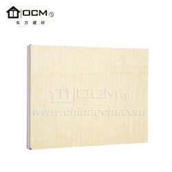Heat Resistant HPL Laminated MGO Boards for Floor Decoration