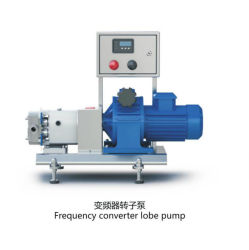 Rotary Lobe Sanitary Pump Chocolate Transfer Pump for High Viscosity Liquid