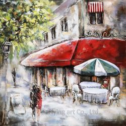 Craft Iron Wall Art Oil Painting for Home Decoration